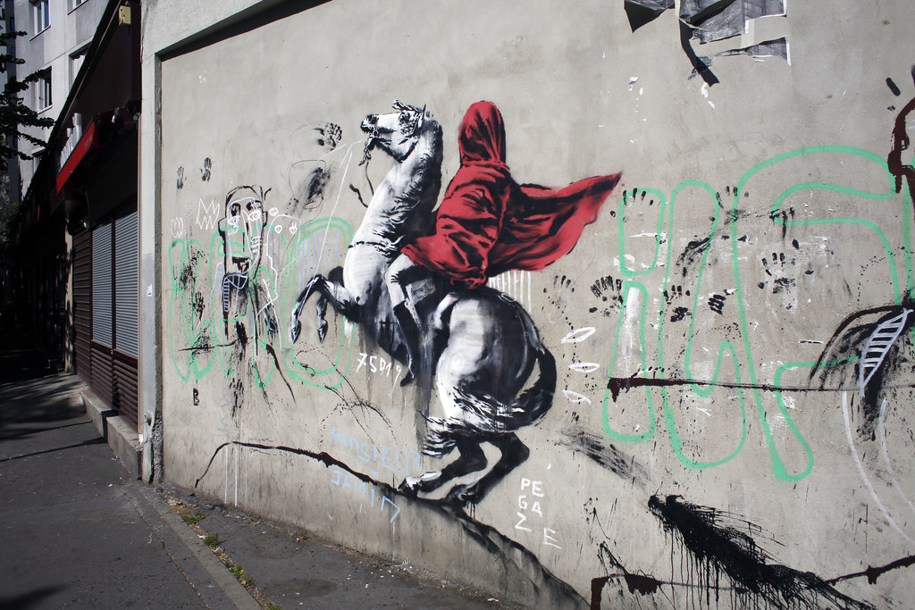 Партола: «Смысл граффити — свобода»
