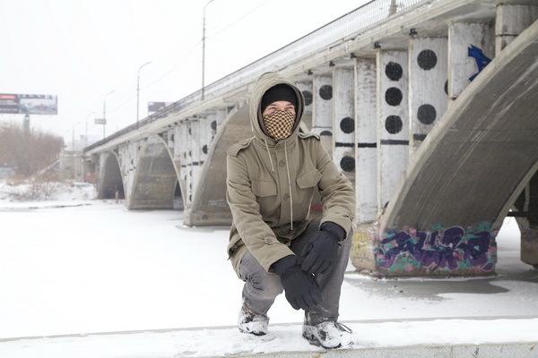 Стрит-артист Тимофей Радя