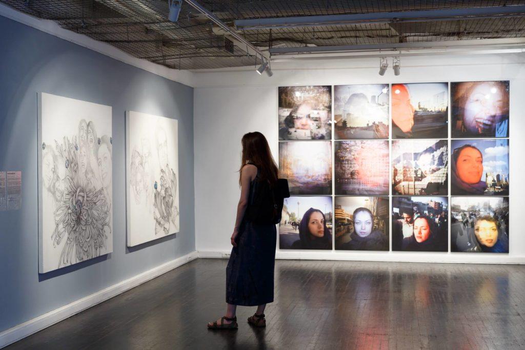 Анкета Энди Уорхола: иранский художник Хамед Хосрави