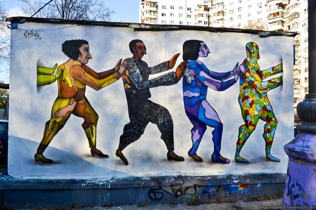 Честность, стрит-арт, реклама: что волнует участников «Артмоссферы»
