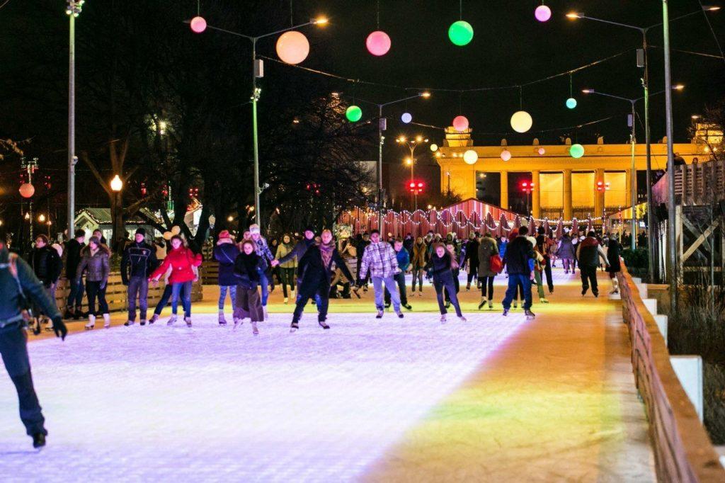 Что делать в парке горького в новогодние праздники?