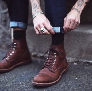 мужские ботинки на весну