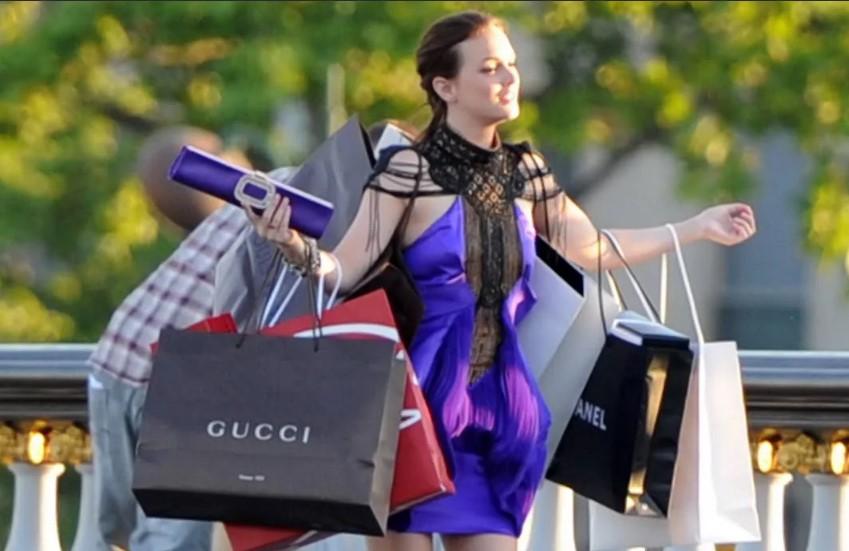 Что такое шопинг? женский