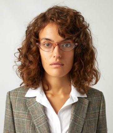 женские вытянутые лица и очки