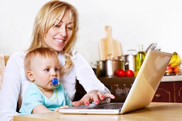 мама блогер