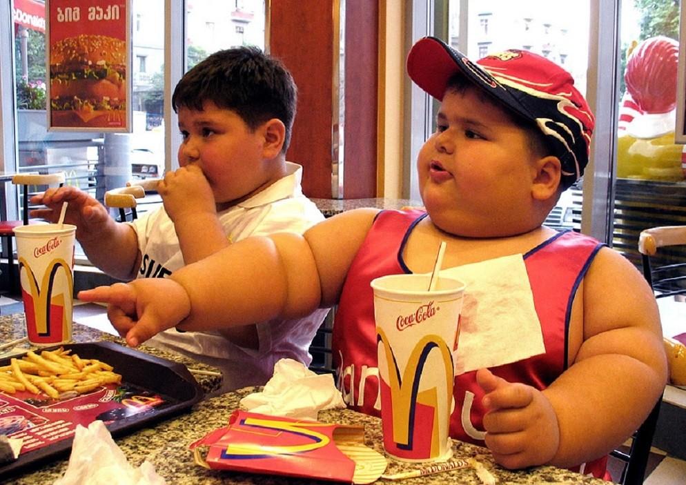 толстые американские дети