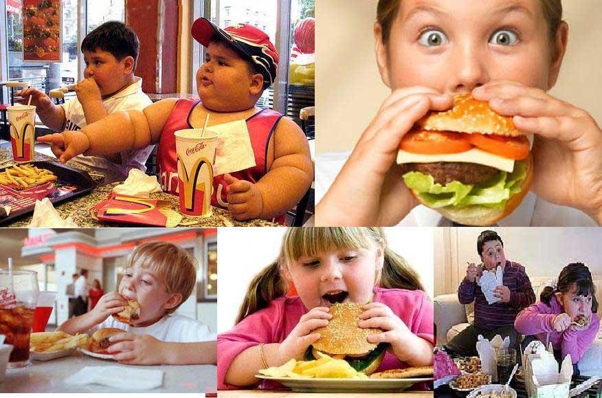 дети толстые