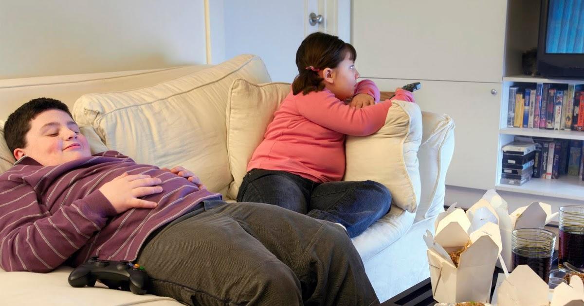 дети толстые в америке