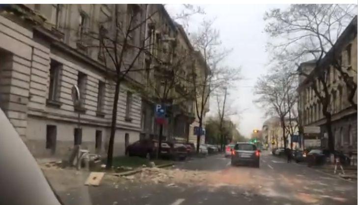 В Хорватии произошло 5,3-балльное землетрясение