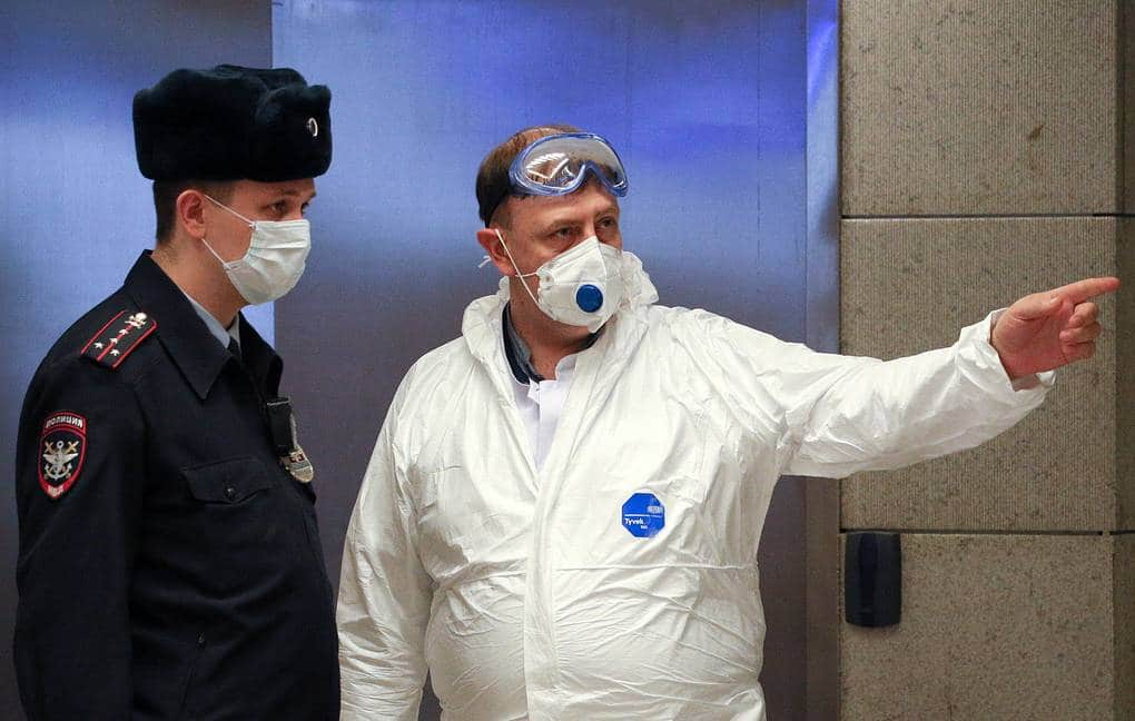 За нарушение карантина россиян накажут рублём