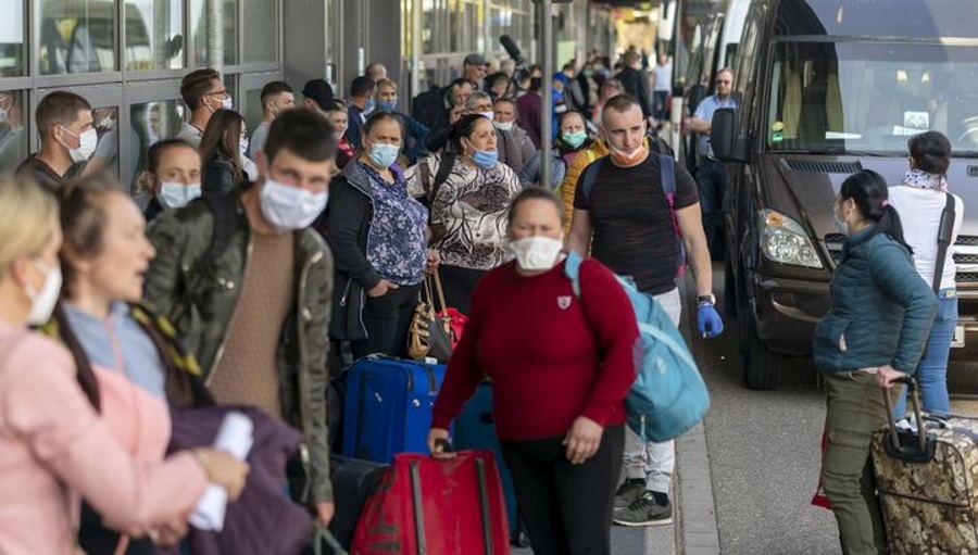 Российские граждане, пожелавшие вернуться из Лондона, вылетели рейсом на Москву