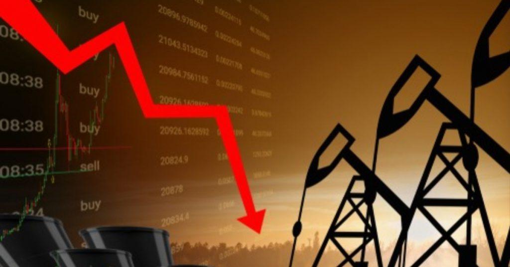 Цены на нефть снова серьёзно просели