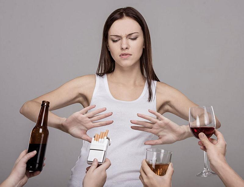 Как расстаться с вредными привычками