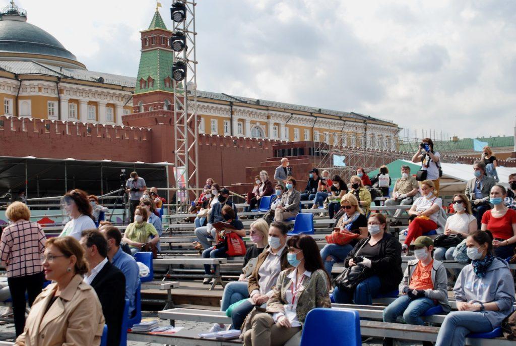 В Москве стартовал книжный фестиваль «Красная площадь»