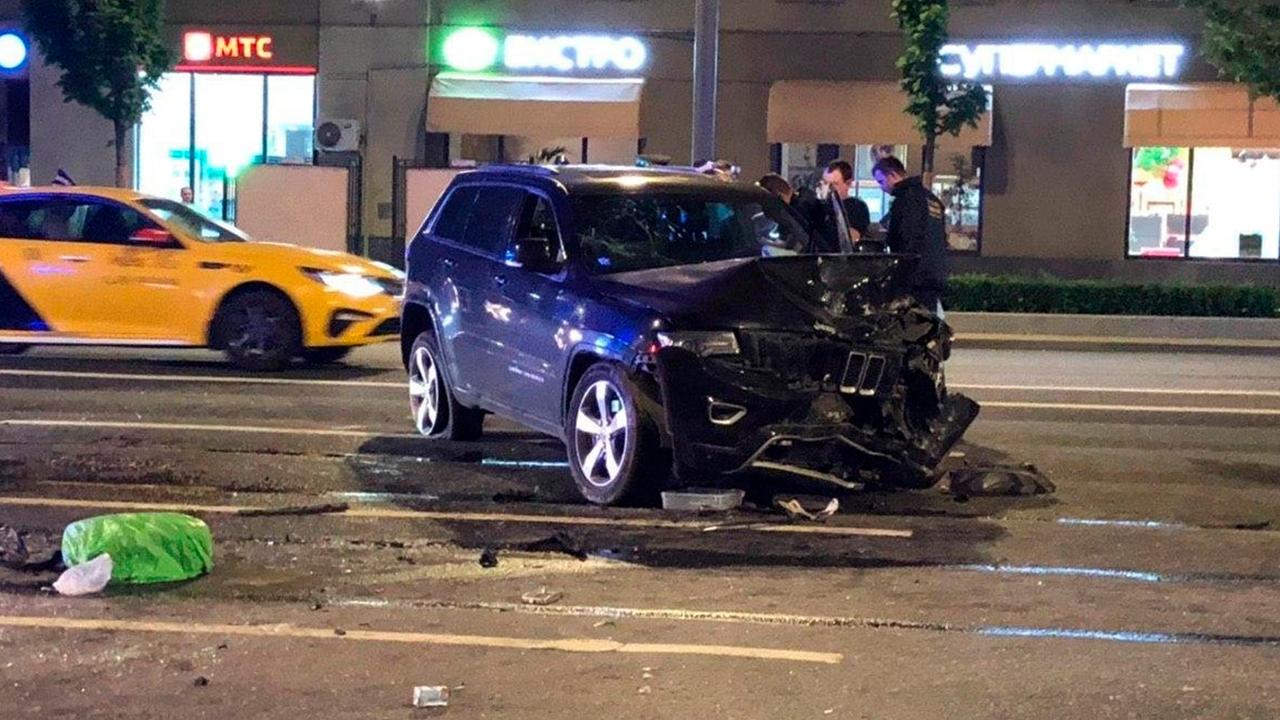 В Автомобиле Ефремова после ДТП нашли следы присутствия другого человека