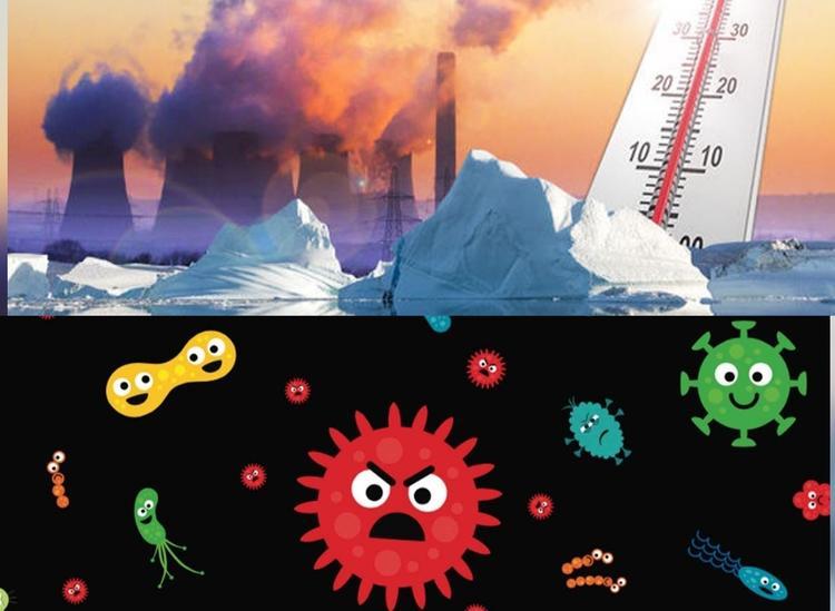Глобальное потепление спровоцирует появление неизвестных вирусов