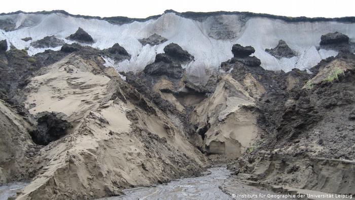 В Арктике зафиксировано рекордное таяние мерзлоты: названы причины
