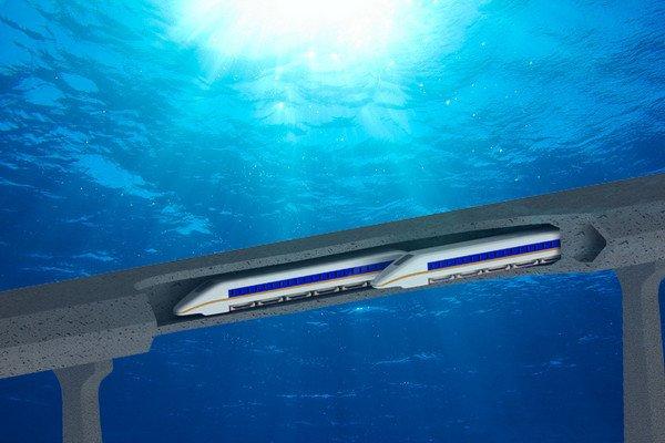 В Китае началась стройка самого большого в мире подводного ЖД-тоннеля