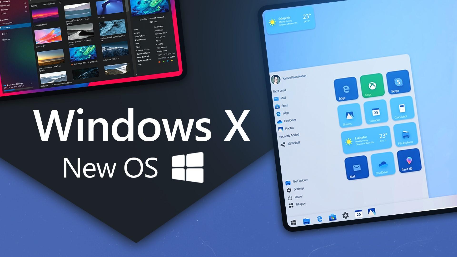 Microsoft выпустила новую ОС – Windows 10X
