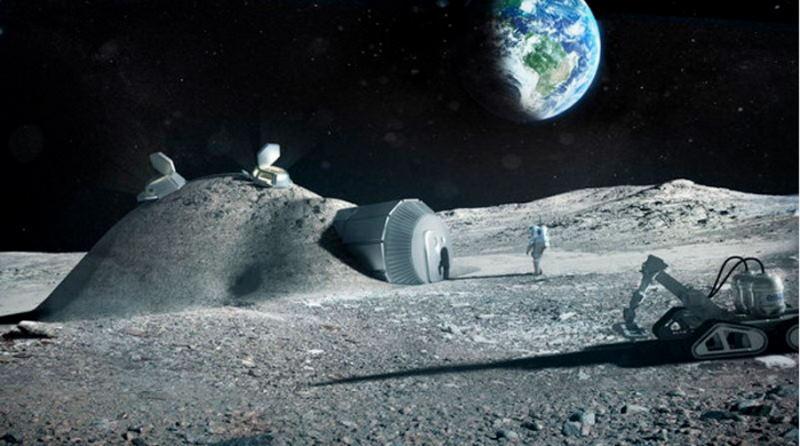 Роскосмос снова обещает покорение Луны российскими космонавтами