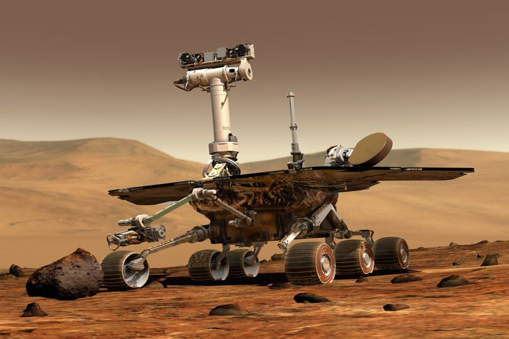 Марсоход Perseverance запустил программу поиска жизни на Марсе