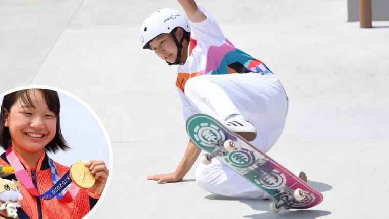 Японская 13-летняя спортсменка выиграла золото на Олимпиаде 2020