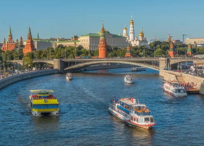Преимущества прогулок по Москва-реке