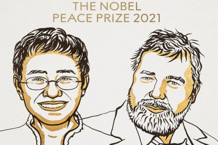 Нобелевскую премию мира получили журналисты Мария Ресса и Дмитрий Муратов